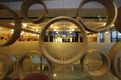 Windsor House, Noida - Office and Cafe Interiors done by Genesis Infra