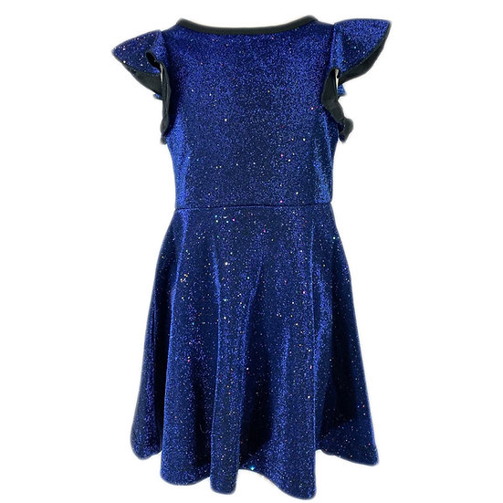 Hannah Banana Fit & Flare Navy Blue Dress
