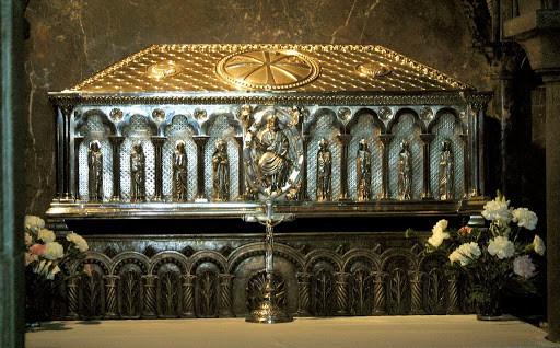 Sepulcro del Apóstol en la Catedral de Santiago de Compostela