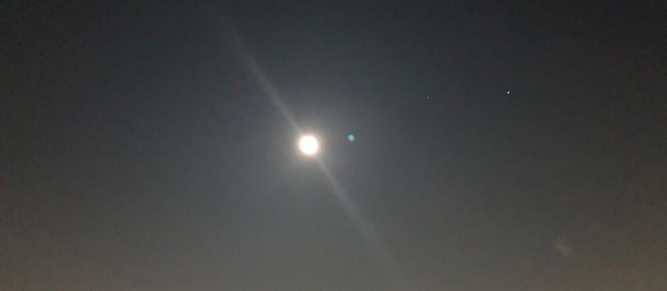 8月 葉月の満月🌕