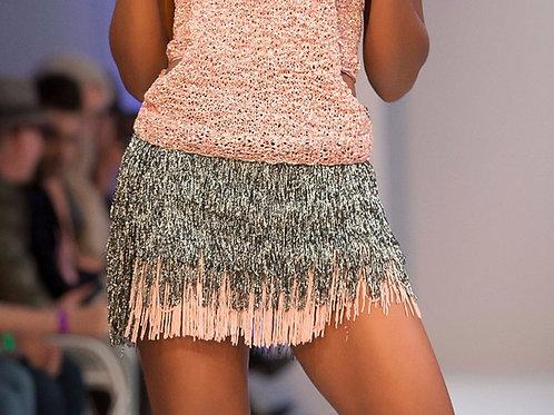 Tassel Mini Skirt
