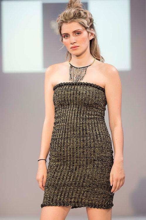 Body-Con Strapless Dress