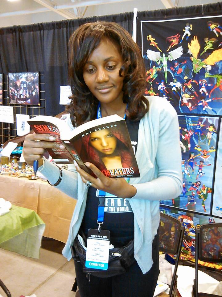 Comic book producer Monique Johnson