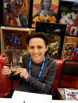 Artist Maria Gulla at N Falls Comic Con 2015