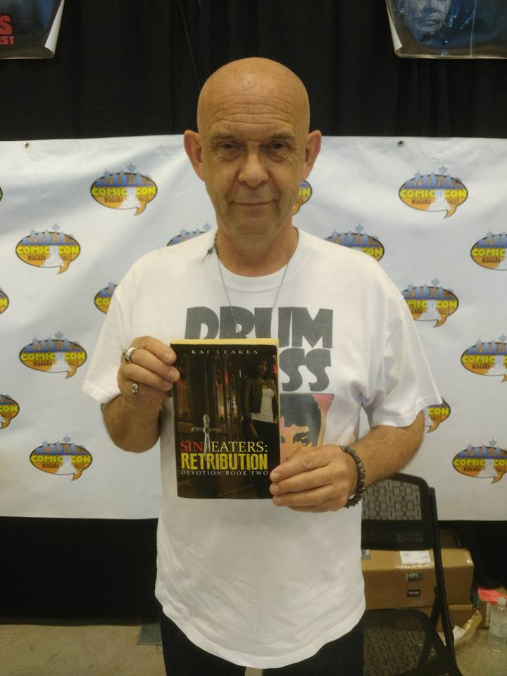 Doug Bradley (Pinhead) at Canadian Comic Con 2016 via Kenneth Alexander