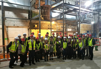CCAC Young Leaders Tour Willis Tower at First Quarter Event