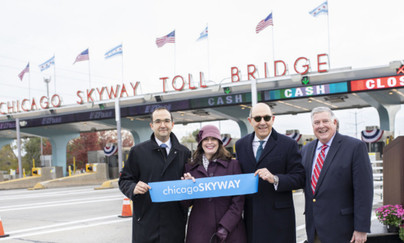 Chicago Skyway Canopy Rehabilitation Project Grand Re-Opening