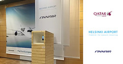 Pre-event at Helsinki Airport