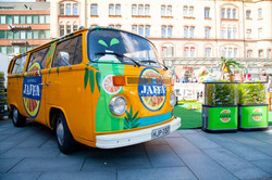Jaffa, green mandarin promotional tour around Finland