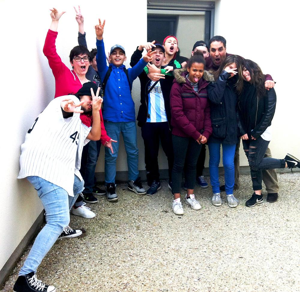 Les jeunes du CMSEA