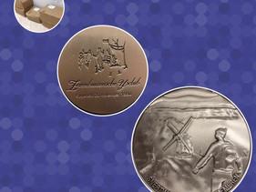Nieuwe medaille voor de 5e editie