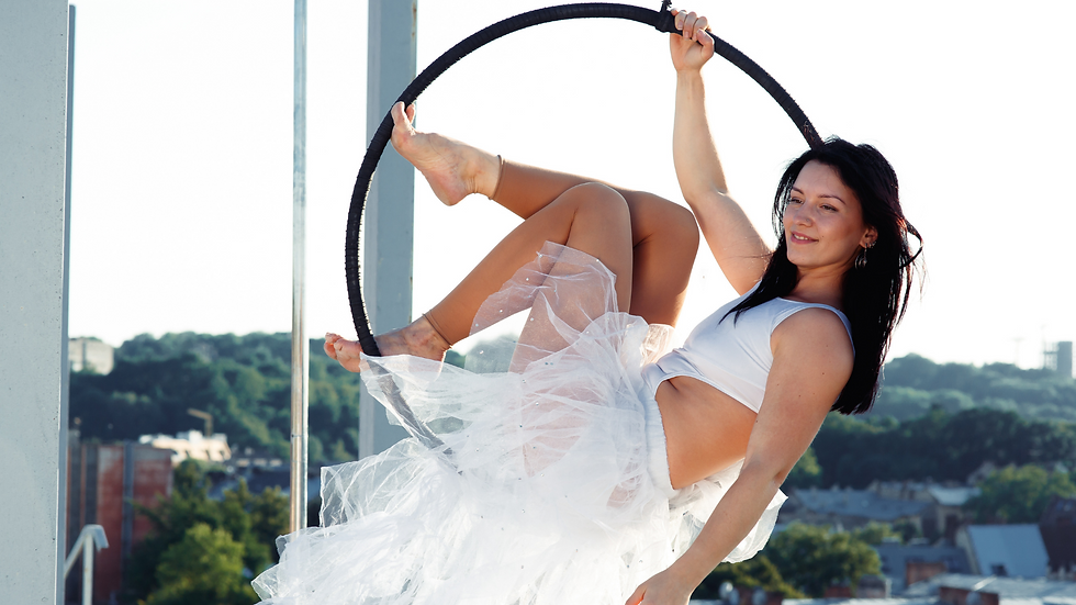 Spin-Up Aerial Silk Hoop