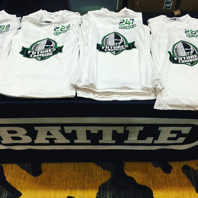 _battlesports setting up for the #NextGenFuturesCombine check in.jpg