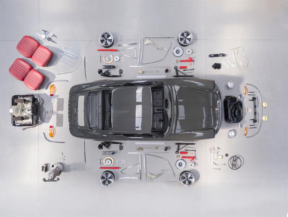 Porsche 911T Puzzle