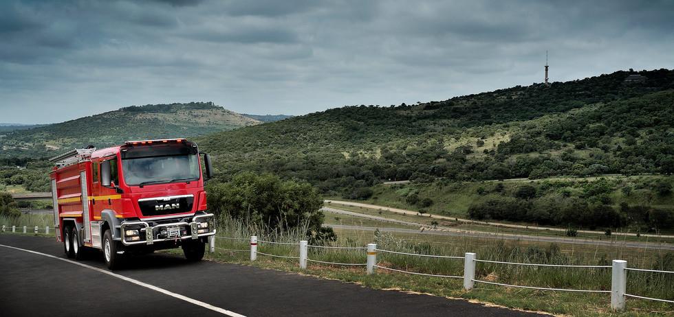 MAN TGS Fire Truck