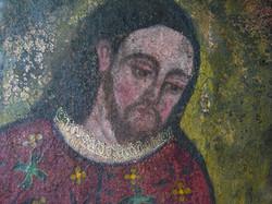 S. Isidro, late-17C Cuzco - detail