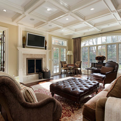 Leather, Moldings, Formal Seating