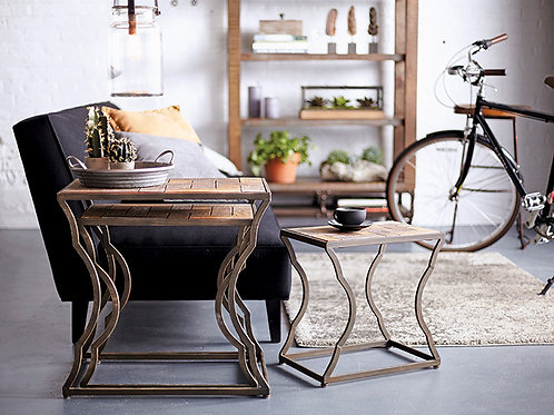 Set of Three Nesting Side Tables