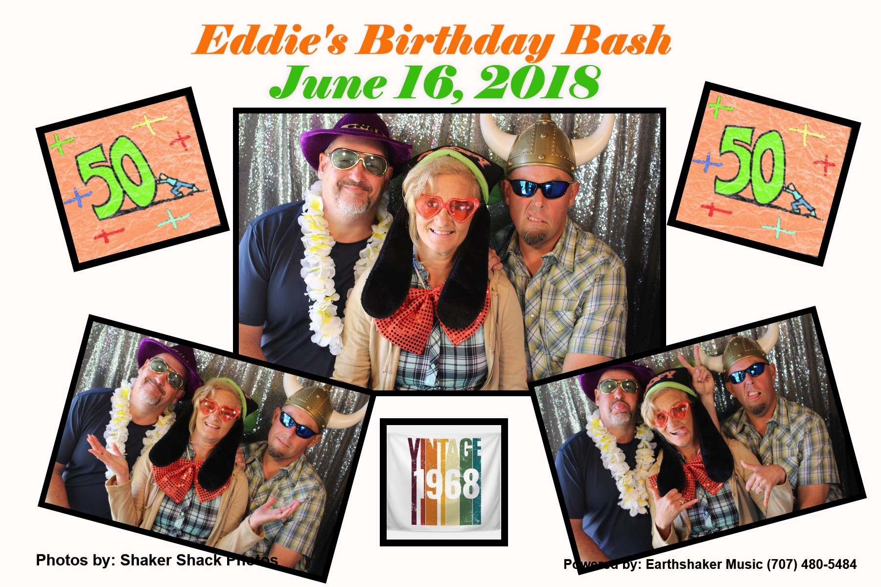 Eddie's 50th birthday