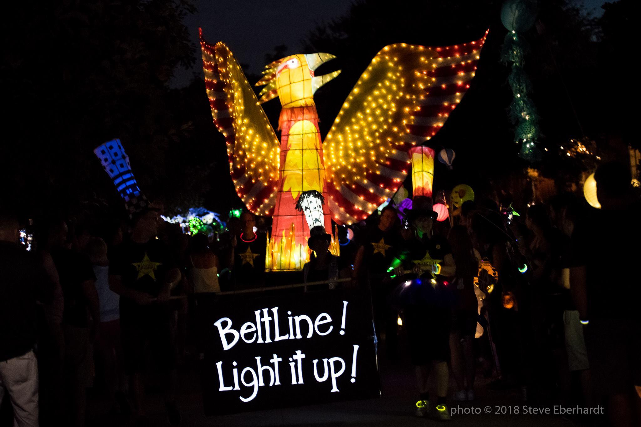 Atlanta BeltLine Lantern Parade