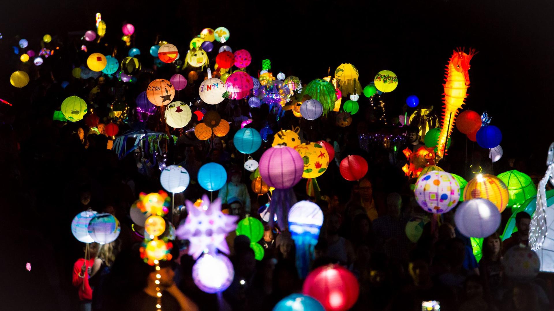Sandy Springs Lantern Parade