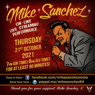 Mike - October poster