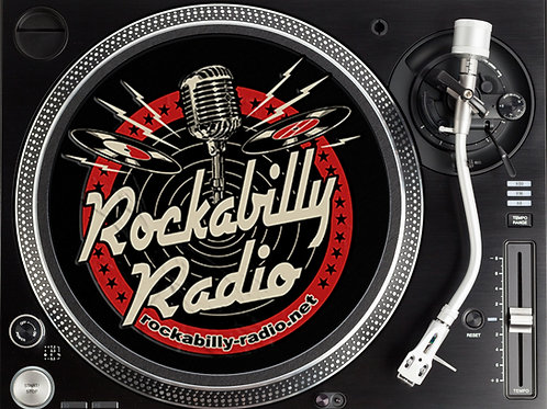 Rockabilly Radio logo Slipmats