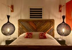La chambre, si romantique !