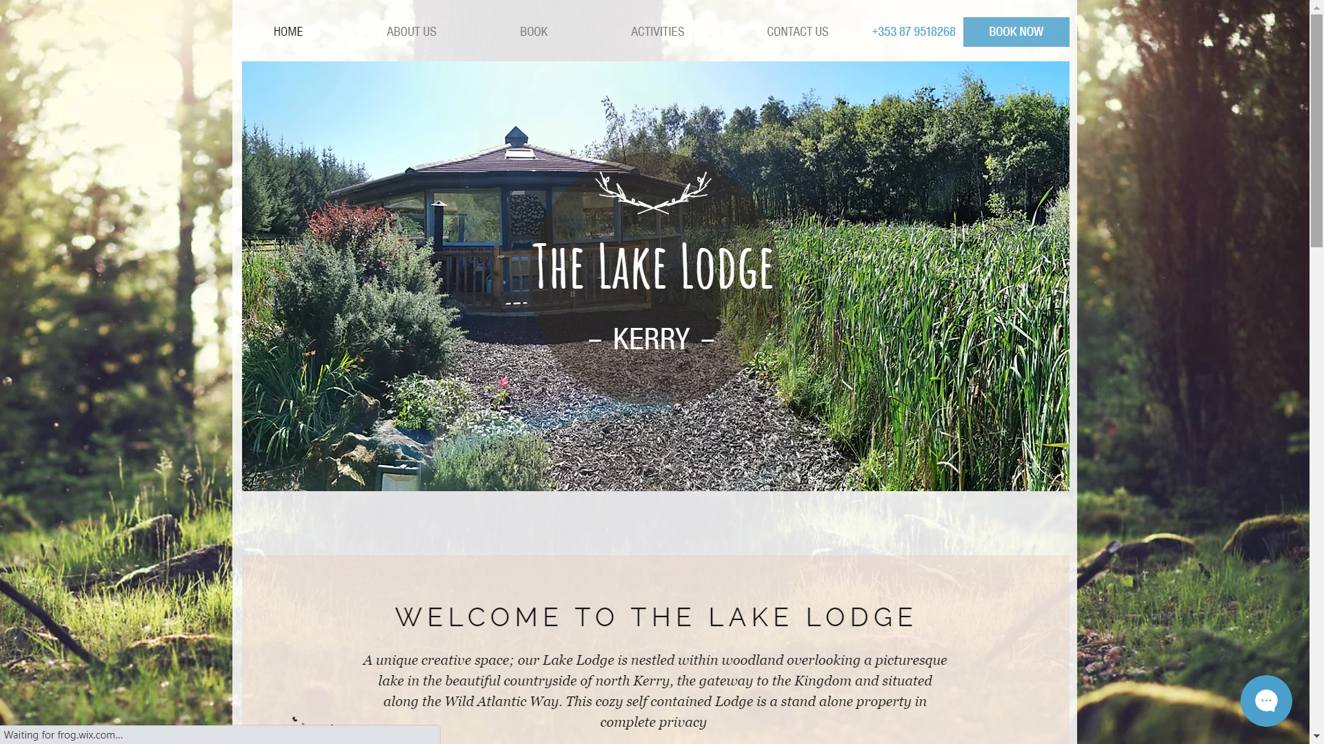 Lake Lodge Kerry Website