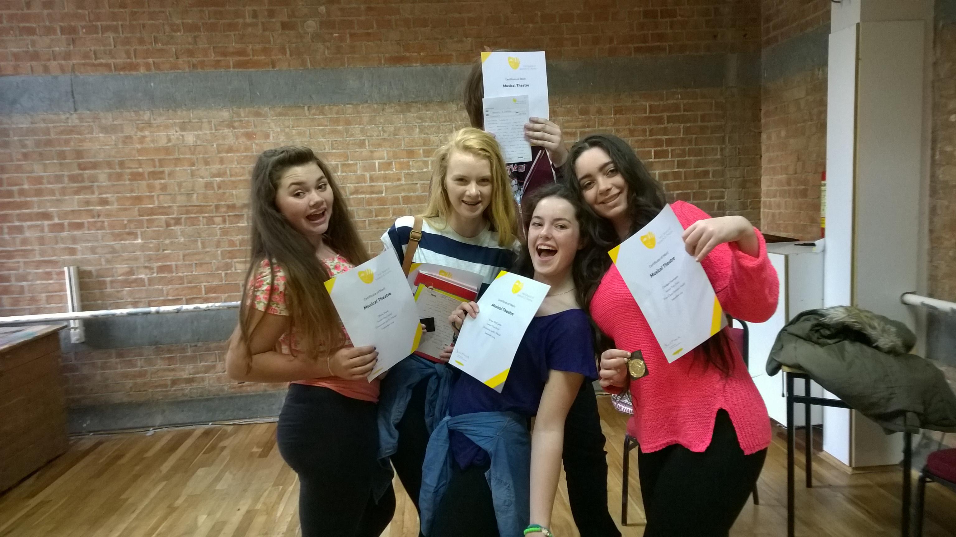 Singing Exam Students 2015