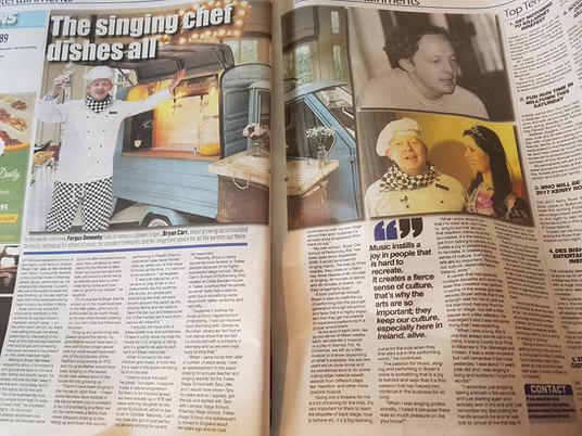 Kerryman Newspaper The Singing Chef