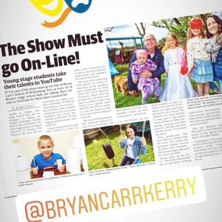 The Show Must Go Online PR