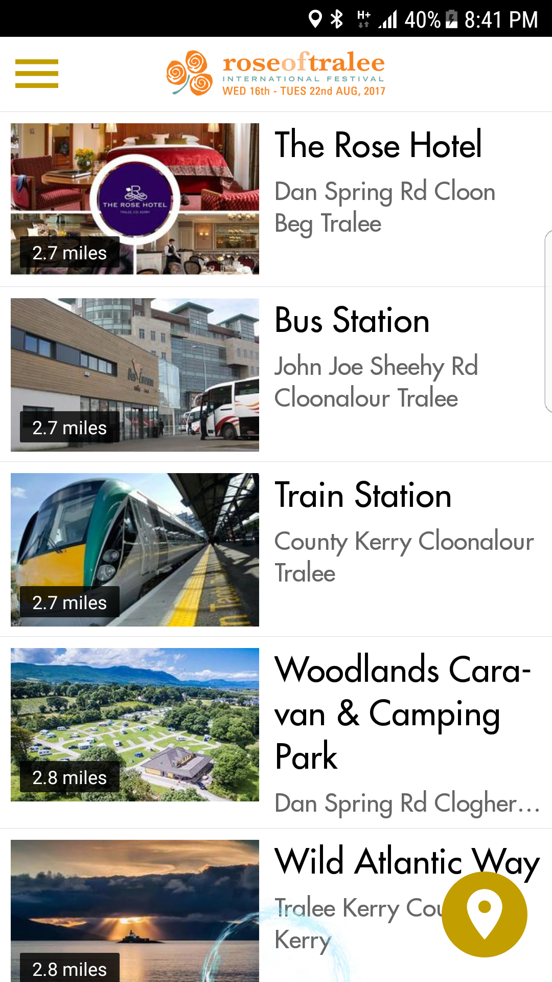 Rose of Tralee Festival App