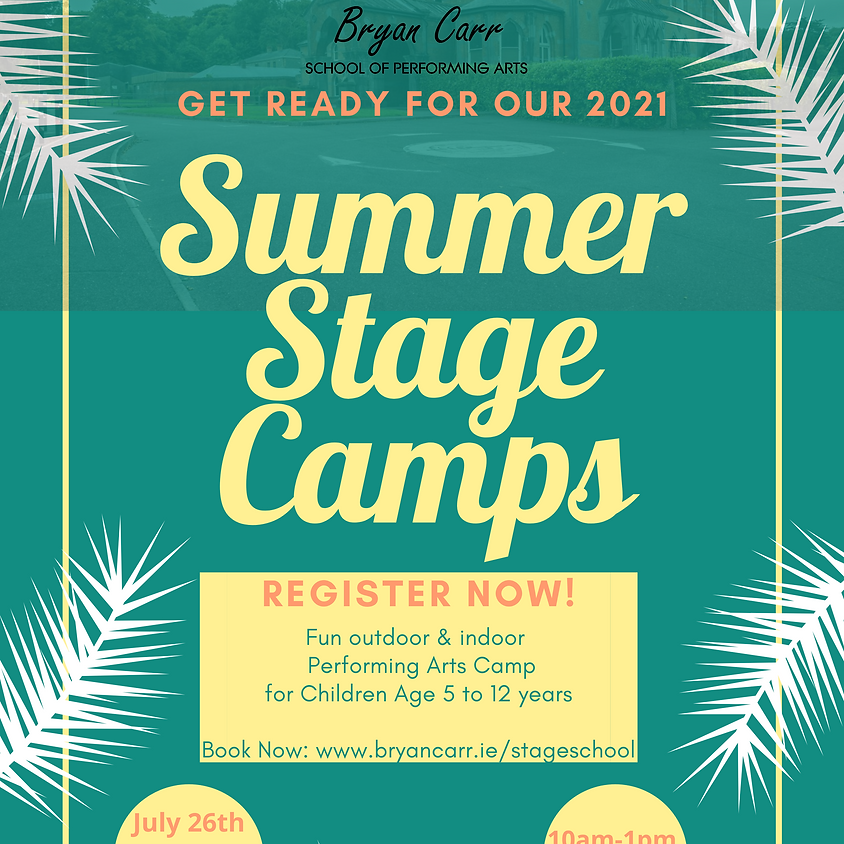 Summer Stage Camps 2021