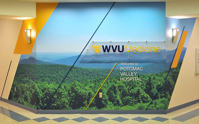 WVU Medicine Potomac Valley Hospital Welcome Wall
