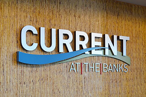 Current at the Banks Logo