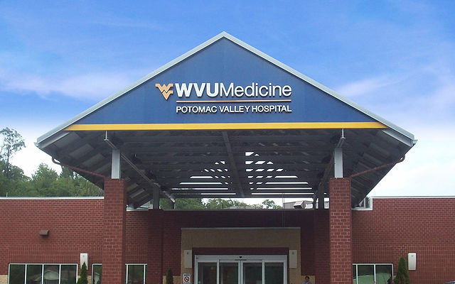 WVU Medicine Potomac Valley Hospital Entrance