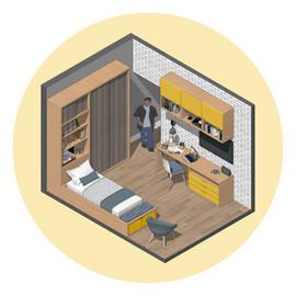 Dormitório Amarelo