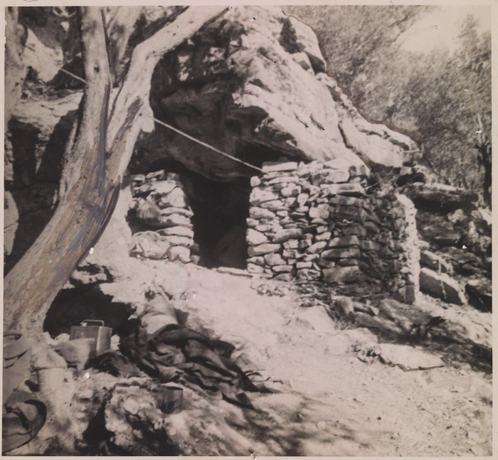 The hideout near Hordaki