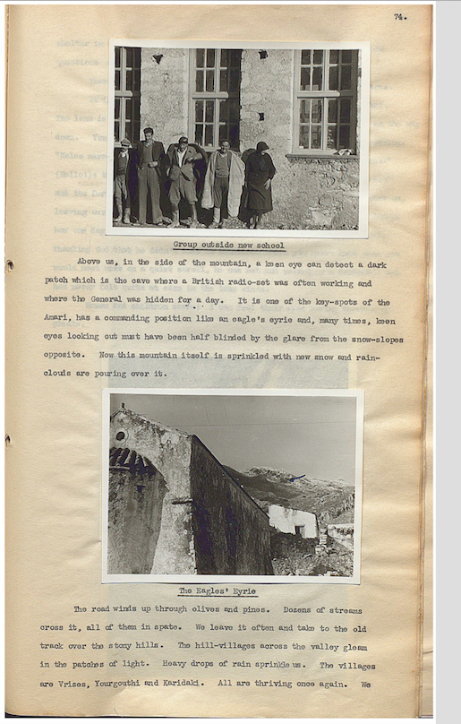 Michael Powell's visit to Ano Meros in 1951