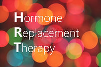 HRT (Hormone Replacement Therapy) acrony