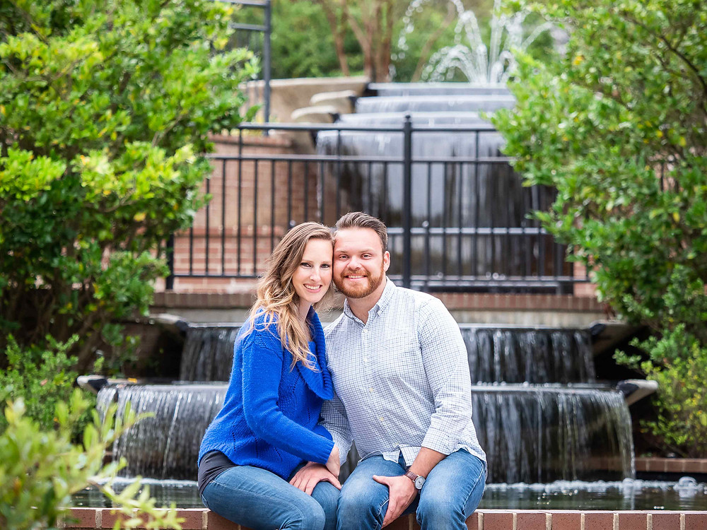 Fall engagement session at Glencairn Garden by Sharon Elisabeth Photography