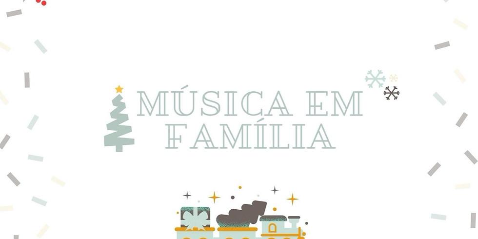 Música em Família (6 meses a 3 anos)