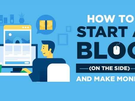 HOW TO START A BLOG IN 6 SIMPLE STEPS