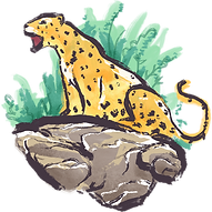 Illustrated Jaguar