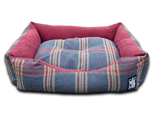 Country Classic Dog Settee - Pink