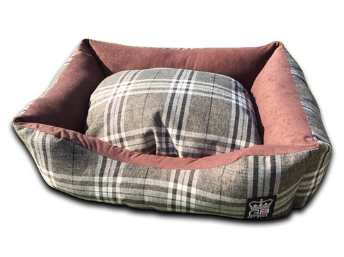 Country Classic Dog Settee - Brown
