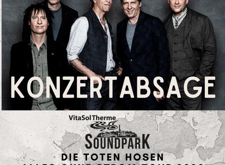 Konzertabsage Die Toten Hosen