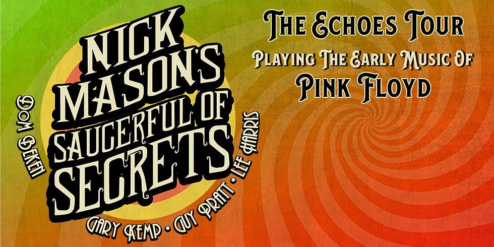 """Nick Mason's Saucerful of Secrets - """"The Echoes"""" - Tour - MCC Halle Münsterland / Münster - Ersatztermin"""