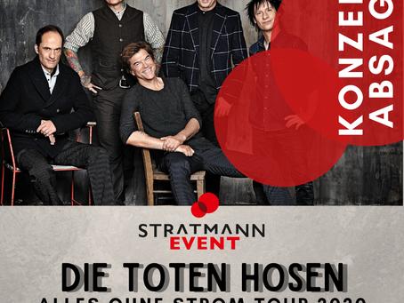 Konzertabsage Die Toten Hosen VitaSol Soundpark Open Air